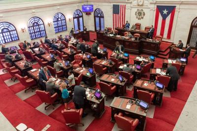 Senado - senadores - Puerto Rico - Foto via Senado Twitter - mayo 11 2020