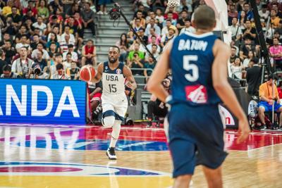 Baloncesto - Estados Unidos vs Francia - mundial de baloncesto - Foto USA Basketball Twitter - septiembre 11 2019
