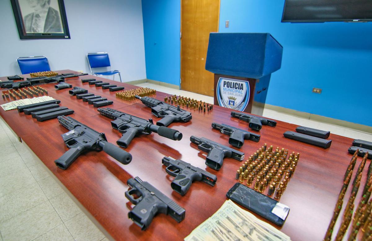 Incautan armas Puerto Nuevo PMSJ 15-8-19 PMSJ