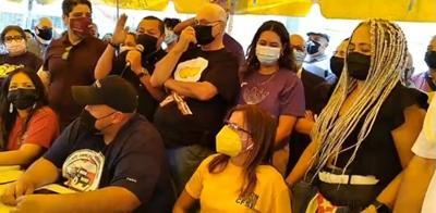 Sindicatos amenazan con paralizar a Puerto Rico si no se cancela el contrato de Luma Energy - Captura de pantalla - junio 1 2021