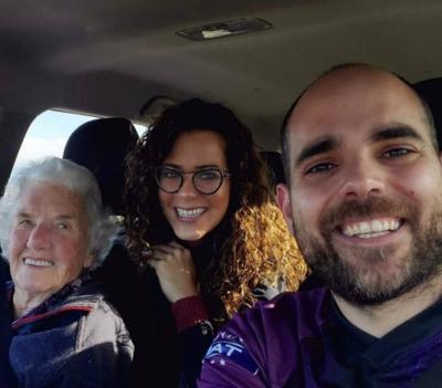 Puertorriqueños - pareja - anciana de 91 años - Foto via Facebook - mayo 22 2020