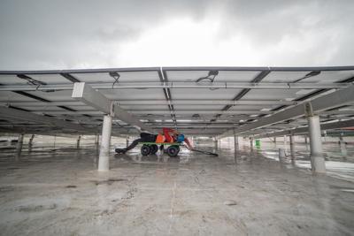 Placas solares Cuartel de Ballajá FEMA