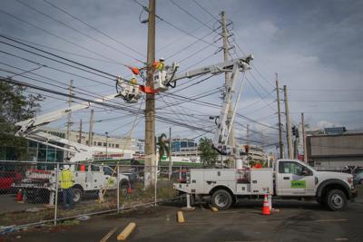 Luma Energy - obreros - Foto via Luma Twitter - junio 7 2021