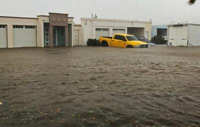 Huracán María inundación