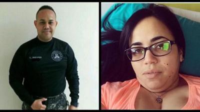 Oficial de Correccion - novia - crimen - Foto via Noticentro - octubre 8 2019