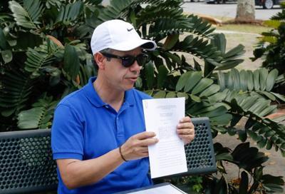 Miguel Romero - alcalde San Juan - traspaso parque lineal - Foto suministrada - abril 7 2021