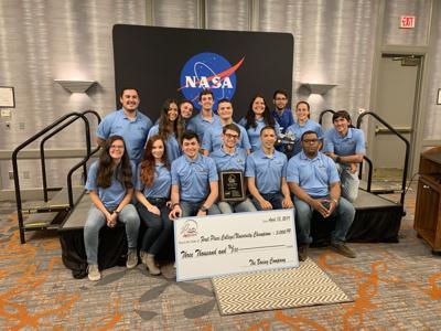 Estudiantes del RUM ganan primer lugar en competencia de tecnología espacial de la NASA