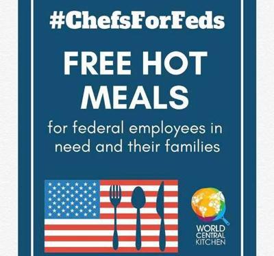 Restaurante local dara comida a empleados federales desempleados por el cierre - enero 23 2019