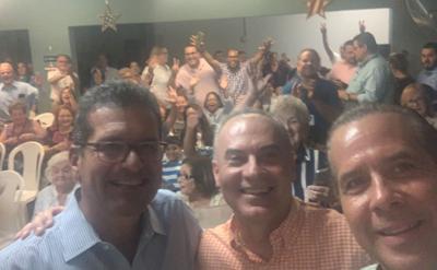 Pierluisi - endoso en San Juan - Foto via Jorge Navarro - septiembre 10 2019