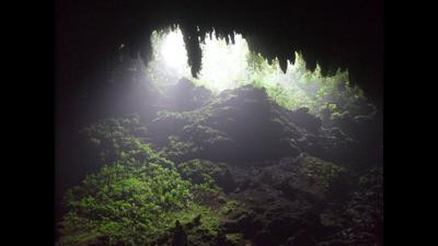 Cavernas de Camuy - Captura de pantalla YouTube - marzo 4 2021