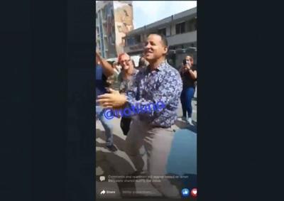 Julio Roldan - alcalde de Aguadilla perreando - Captura de pantalla - julio 23 2021