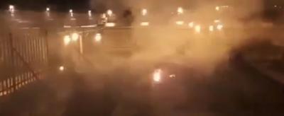 Mezquita - incendio al mismo tiempo que en Notre Dame - Captura de pantalla - abril 16 2019