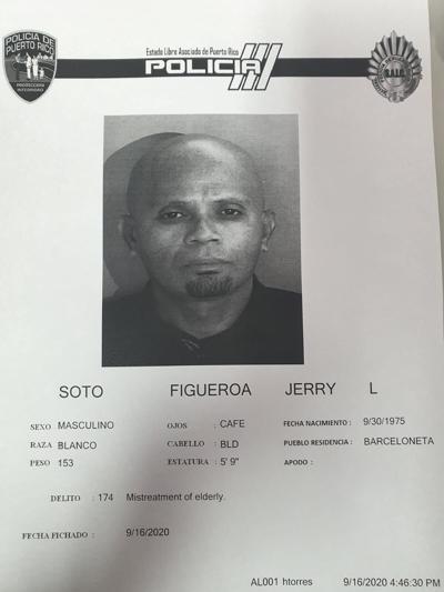 Acusado extorsion  ancianos - Jerry L. Soto Figueroa