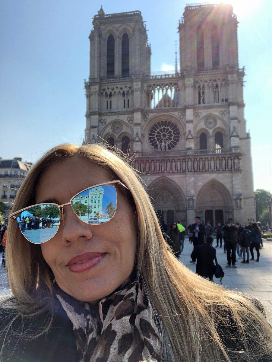 Melissa Correa desde Notre Dame