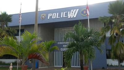 Policia - Comandancia de Guayama - Foto TuNoticiaPR - julio 19 2019
