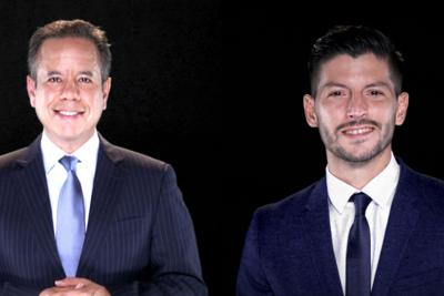 Miguel Romero - Manuel Natal - Foto via Wapa TV - noviembre 4 2020