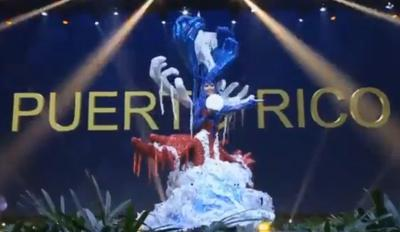 Miss Universe Puerto Rico - traje tipico - diciembre 10 2018