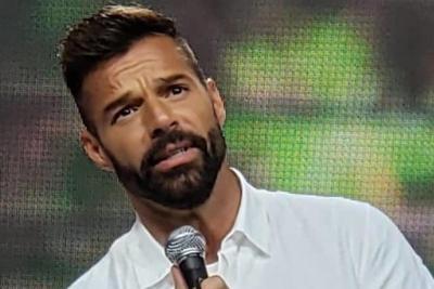 Ricky Martin - Captura de pantalla - junio 25 2020