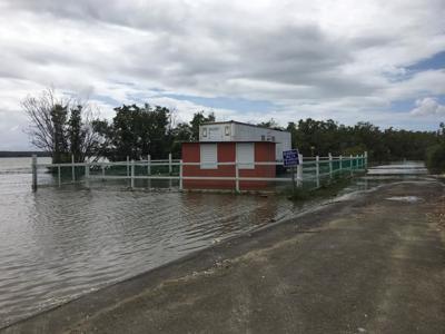 Guayanilla - se hunde el suelo y entra el mar - Foto via Servicio Geologico federal - Facebook - febrero 10 2020