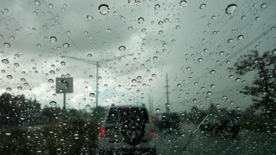 Lluvia y tapón