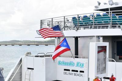 El servicio se inauguró desde Ceiba hace unos meses.