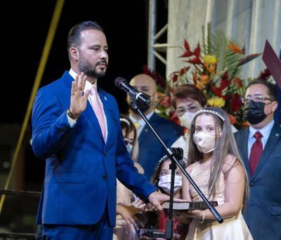 Alcalde de Villalba - presidente Asociación de Alcaldes de Puerto Rico - Luis Javier Hernández