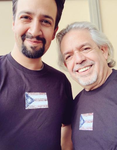 Lin Manuel y su padre, Luis Miranda, forman parte de la primera entrega.