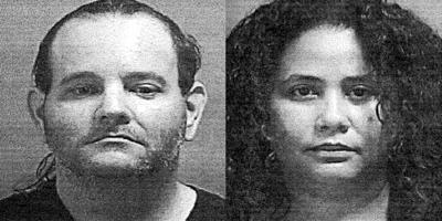 Policia - ficha - pareja - arrestada y acusada de robar videojuegos de una megatienda en Ponce - Foto suministrada - enero 22 2021