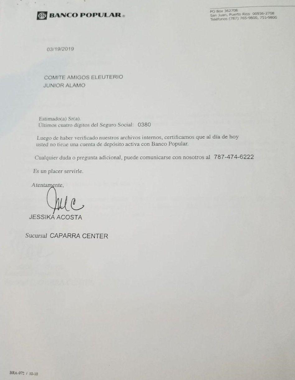 Secretario interino de Educación presenta documentos sobre cese de actividades políticas