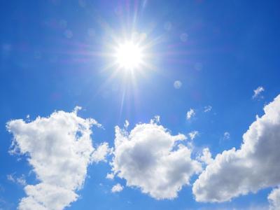 Cielo - Sol - azul - Foto via Cybernews - mayo 14 2020
