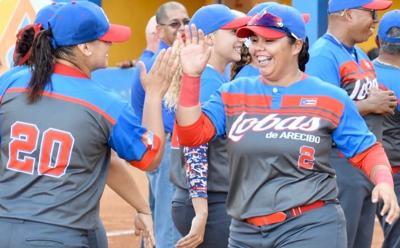 Lobas de Arecibo - beisbol femenino - Foto suministrada - octubre 30 2019