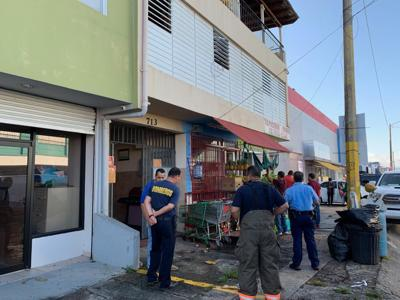 Puerto Nuevo - fuego - tragedia - bomberos - Foto NotiUno - mayo 17 2019