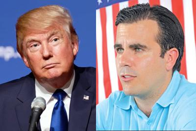 Image result for Rossello and Trump