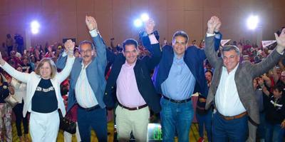 PPD - candidatos - gobernacion - Foto PPD - octubre 14 2019