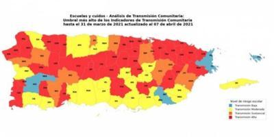Transmisiones comunitarias - abril