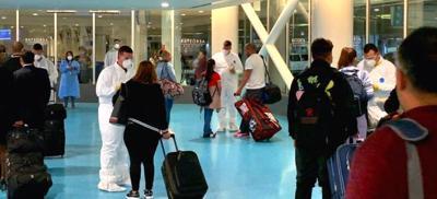 Aeropuerto LMM - pasajeros - temperatura - pruebas - mayo 6 2020