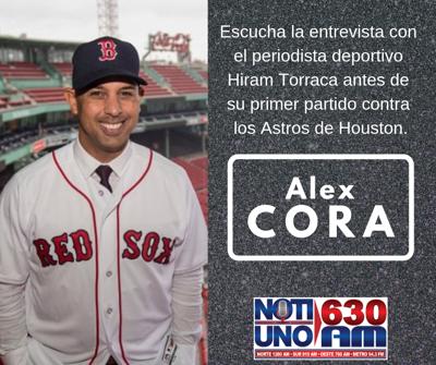 EXCLUSIVA: Alex Cora habla en NotiUno sobre la Serie Final de la Liga Americana