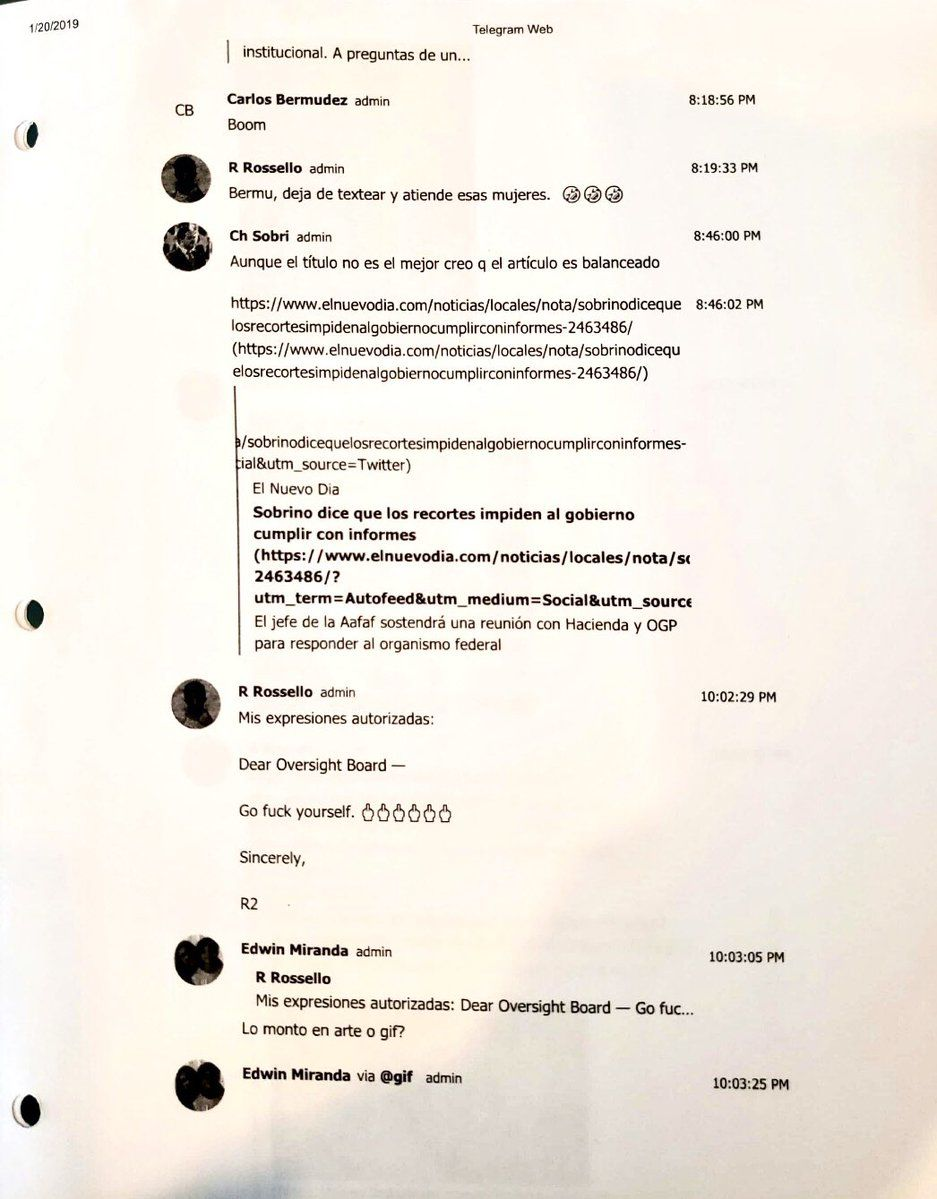 Chat - Rossello - Telegram - julio 11 2019