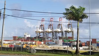 Embarcacion - San Juan - alimentos y productos farmaceuticos se podrian perder - Foto NotiUno - julio 21 2021