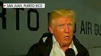 FOTOS: Trump acusa de ineptos a los políticos de Puerto Rico