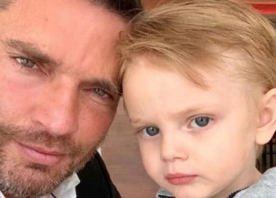 Julian Gil y su hijo Matias - Foto via Instagram - octubre 19 2020