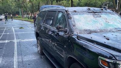 Mexico - vehiculo - atentado - balacera - Foto Video redes sociales - junio 26 2020