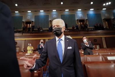Joe Biden - mensaje ante el Congreso - Foto Joe Biden Twitter - abril 29 2021