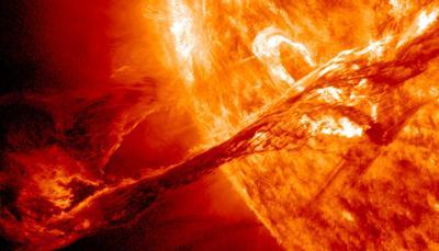 Tormenta Solar - NASA - febrero 27 2019