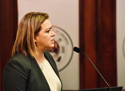 Elba Aponte - secretaria designada de Educacion - Foto via Twitter - febrero 11 2021