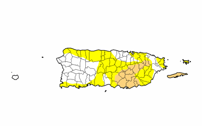 Sequia - mapa  - Foto suministrada - junio 10 2021