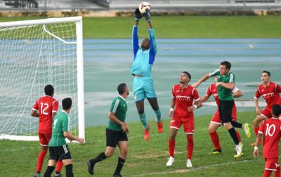 Futbol interuniversitario - Foto via Cybernews - octubre 14 2019
