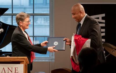 Bernie Williams - doctorado honorario - Nueva York - Foto suministrada - julio 12 2019