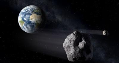 Asteroides - Tierra - Foto suministrada - julio 9 2019