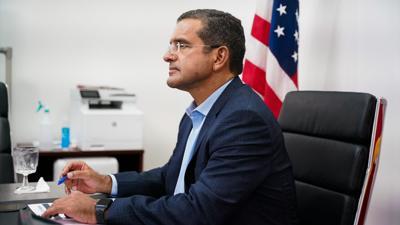 Pedro Pierluisi - gobernador - Foto via Twitter - febrero 26 2021